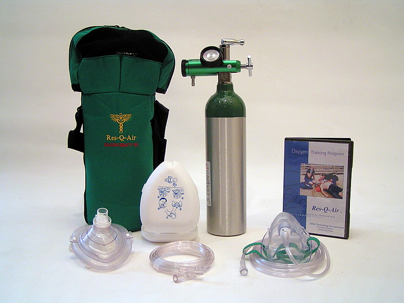 Res Q Air E 4 Portable Emergency Oxygen System